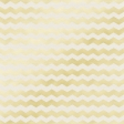Shine - Gold Chevron White Paper