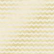 Shine - Gold Chevron White Paper