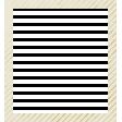 Shine - Gold Striped White Frame