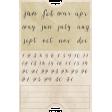 Jane - Mini Calendar Ticket