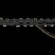Jane - Word Art - Black Stitches