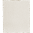 Jane - Large White Torn Paper