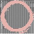 Jane - Pink Paint Ring