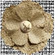 Rustic Charm Feb 2015 Blog Train Mini Kit - Burlap and Tulle Flower