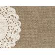 Rustic Charm Feb 2015 Blog Train Mini Kit - Burlap Doily