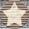 Rustic Charm Feb 2015 Blog Train Mini Kit - Star Stamped Cardboard Tag