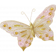 Shine - Pink & Gold Butterfly