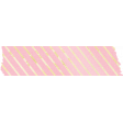 Shine - Pink And Gold Tape