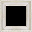 Shine - White and Gold Shabby Frame