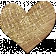 Shine - Wood Heart