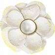 Reflections - April 2015 Blog Train Mini Kit - White flower