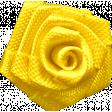 Reflections - April 2015 Blog Train Mini Kit - Tiny Yellow Fabric Rose