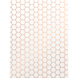 Already There - Copper Vellum Honeycomb Journal Card