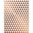 Already There - Copper Vellum Triangles Journal Card