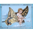 Vintage New Years Cards - Butterfly