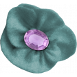 The Best Is Yet To Come 2017 - Felt Flower with Gem