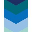 Pocket Basics 2 Bold Journal Card Template - Layered Template -Chevron (3x4)