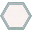 The Good Life: August Bits & Pieces - Green Hexagon with Purple Label