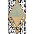 The Good Life: August - Wood Diamond Clip