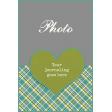 Heart Journal Card 4x6 Template 01b
