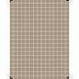 Pocket Basics Grid Neutrals - Brown2 3x4 (round)