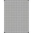 Pocket Basics Grid Neutrals - Dark Grey 3x4 (round)
