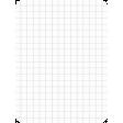 Pocket Basics Grid Neutrals - Light Grey 3x4 (round)