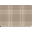 Pocket Basics Grid Neutrals - Brown2 4x6 (round)