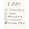 Already There Journal Card 2 - Checklist