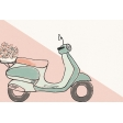 Already There Journal Card 2 - Vespa2
