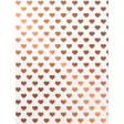 Already There - Copper Vellum Hearts Journal Card