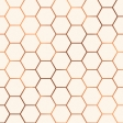 Already There Paper - Metallic Honeycomb