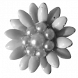 Already There - Beaded Flower Template 02