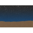 Good Day Skyline - Night Journal Card (4x6)