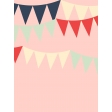 Work Day Journal Cards - Bunting