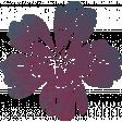 Bohemian Breeze Painty Bits - Flower 23