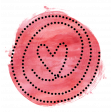 Dotted Swirly Heart
