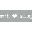 Torn Edge Paper Strip- Simply Sweet... Template