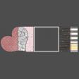 Masked Heart Photo Strip