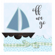 Off We Go Journaling Card