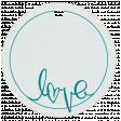 Circle Tag- Love