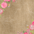 Floral Bordered Background 02