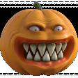 Creepy Pumpkin 01