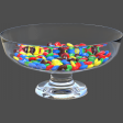 Glass Bowl of Candy 01
