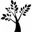 Tree Digital Stamp 2