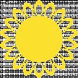 Sunflower digital stamp