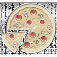 Enamel Pin - MOVIE - PIZZA