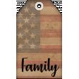 Faith, Family, Freedom Tag Set - Family