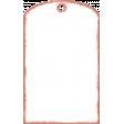 Summertime Arrow -Plastic Pocket Tag