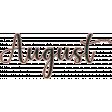 A Year Full - Enamel - August